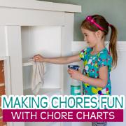 Making Chores Fun with Chore Charts