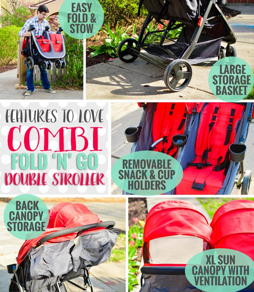 Stroller Guide: Combi Fold N Go Double Stroller » Daily Mom