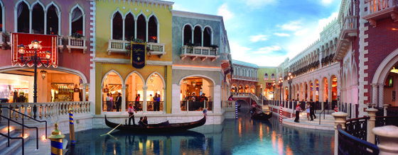 Grand Canal Shoppes at The Venetian and The Palazzo
