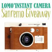 Lomo'Instant Camera Sanremo Giveaway
