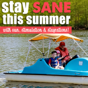 Stay Sane this Summer with Sun Stimulation and Staycations