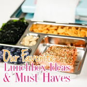 Our Favorite Lunchbox Ideas and Must Haves