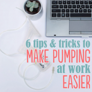 6 Tips and Tricks to Make Pumping at Work Easier