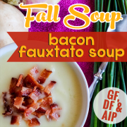 Bacon Fauxtato Soup