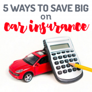 5 Ways to Save Big on Car Insurance
