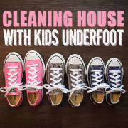 Cleaning House with Kids Underfoot 2