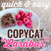 Quick and Easy Copy-cat Larabar