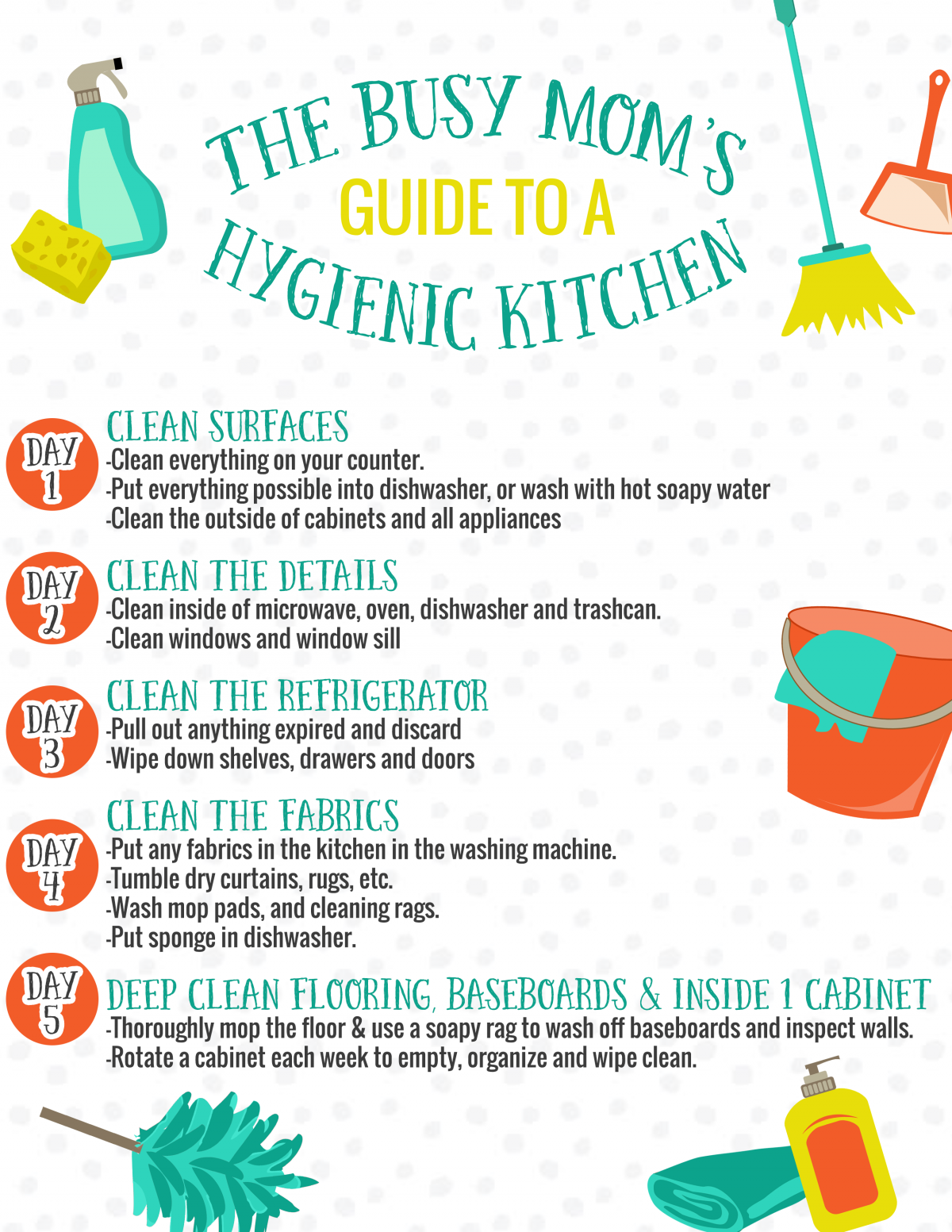 The Busy Mom\'s Guide to a Hygienic Kitchen - Daily Mom