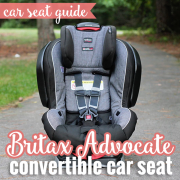 Car Seat Guide Britax Advocate Convertible Car Seat