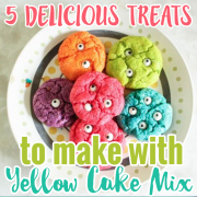 5 delicious treats to Make with Yellow Cake Mix