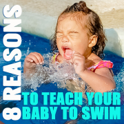 8 Reasons to Teach Your Baby to Swim Pin