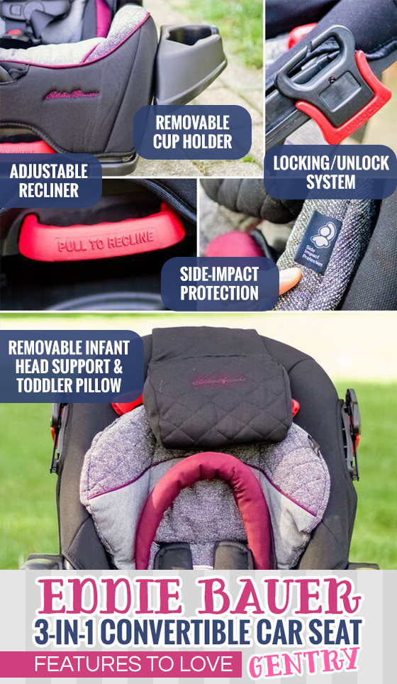 Eddie Bauer  In  Convertible Car Seat Gentry