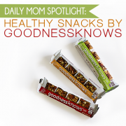 Daily Mom Spotlight Healthy snacks by goodnessknkkows