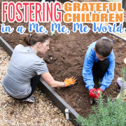 Fostering Grateful Children in a Me, Me, Me World 2