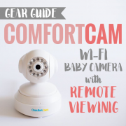 Gear Guide ComfortCam Wi-Fi Baby Camera with Remote Viewing