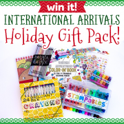 Win It International Arrivals Holiday Gift Pack