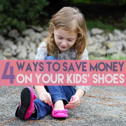 4 Ways to Save Money on Your Kids' Shoes