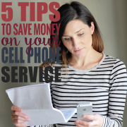 5 Tips to Saving Money on Your Cell Phone Service