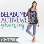 Belabumbum Activewear Giveaway Pin