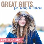 Great Gifts for Teens and Tweens #dmholiday 2015 2