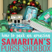 How to Pack an Amazing Samaritan's Purse Shoebox 5