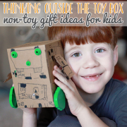 Thinking Outside the Toy Box Non-Toy Gift Ideas for Kids