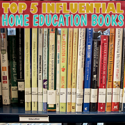 Top 5 Influential Home Education Books