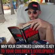 Why YOUR continued learning is key to your children's development