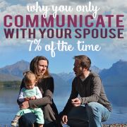 Why you only communicate with your spouse 7 percent of the time 6