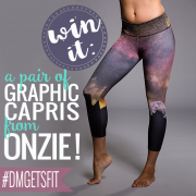 Win It-  A pair of graphic capris from Onzie! 5