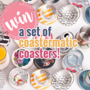 Win a Set of Coastermatic Coasters!