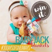 Win it  Baby Jack Blankets