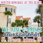 Winter Romance at the Beach St Simons Island GA Featuring The King and Prince Beach  Golf Resort