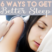 6 ways to better sleep