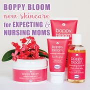 Boppy Bloom New Skincare for Expecting and Nursing Moms