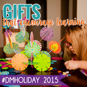 Gifts that encourage learning #dmholiday2015