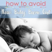 How To Avoid New Baby Burn Out