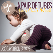 Win It A Pair of Tubes from Ella's Wool