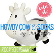 Win It Howdy Cow and Socks by Trumpette