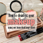 How to disinfect your makeup using one household ingredient-pin