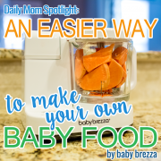 Spotlight An Easier Way to Make Your Own Baby Food
