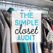The Simple Closet Audit_PIN