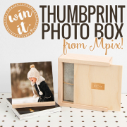 Win It - Thumbprint Photo Box from Mpix