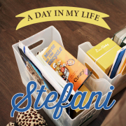 day in my life stefani_pin