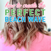 how to create the perfect beach wave