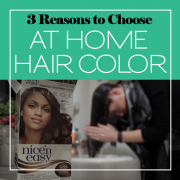 3 Reasons to Choose at Home Hair Color