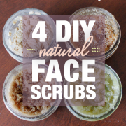 4 DIY NATURAL FACE SCRUBS