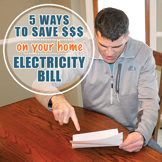 5 ways to save money on your home electricity bill