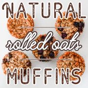 Natural Rolled Oats Muffins