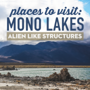 Places to Visit Mono Lakes Alien Like Structures